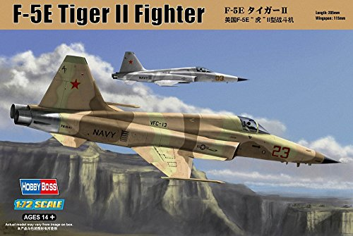 Hobby Boss F-5E Tiger II Fighter Airplane Model Building Kit