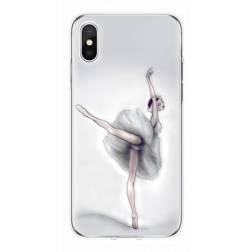 Amazon.com: KCHHA Phone case for iPhone X 5 5S SE 6 6S 7 8 ...