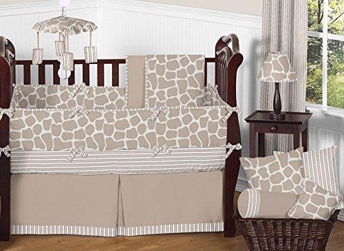 Sweet Jojo Designs Giraffe Fabric Memory/Memo Photo Bulletin Board