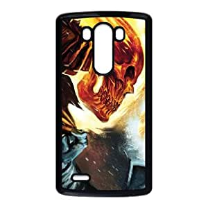 LG G3 Cell Phone Case Black Ghost Rider Collision Course SU4354370