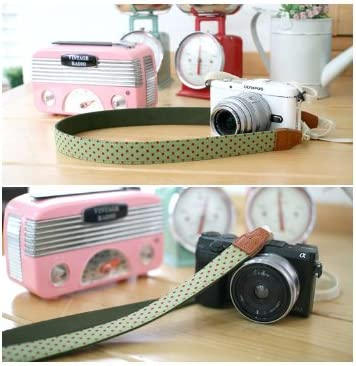 Indi Green for DSLR SLR RF Mirrorless CIESTA Shoulder Neck Camera Strap