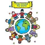 Carson Dellosa D.J. Inkers Kids Around the World Bulletin Board Set (610041)