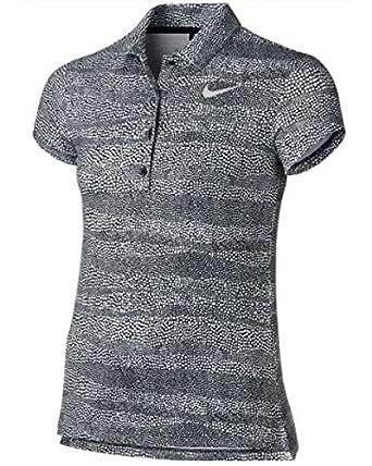 Nike 848603 - 010 Camiseta Polo de Manga Corta de Golf, Niñas ...