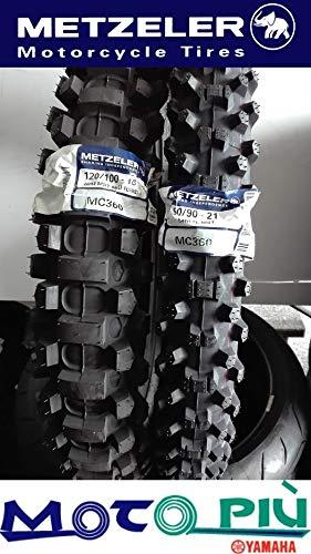 Paire de pneus Cross homologu/és Metzeler MC360 90//90-21 120//100-18