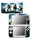 Teenage Mutant Ninja Turtles TMNT Leonardo Movie Cartoon Don Mike Raph Video Game Vinyl Decal Skin Sticker Cover for Original Nintendo 3DS XL System