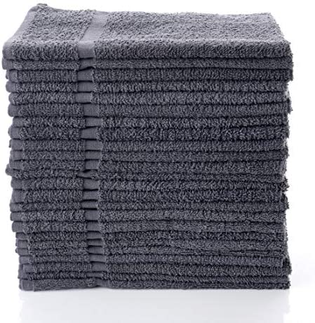 Simpli Magic 79150 Hand Towels Gray