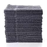 Simpli-Magic 79150 Cotton Gray Hand Towels (12 Pack) Size: 16' x 27'-Home/Salon/Gym/Spa, 16' x 27'