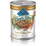 Blue Stew Adult Turkey Stew Wet Dog Food 12.5-oz (Pack of 12)
