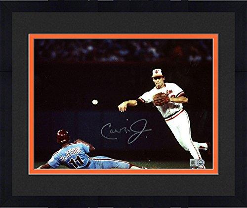 Ripken Jr Framed 8x10 Photo - Framed Cal Ripken Baltimore Orioles Autographed 8