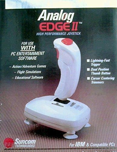 Analog Edge II High Performance Joystick - 15 pin Joystick / Game Port