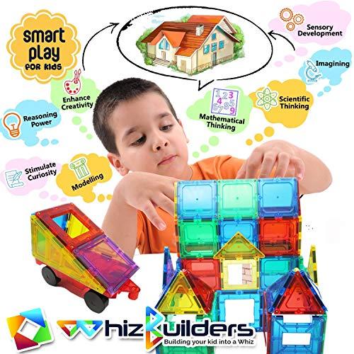Wbu Magnetic Building Blocks Magnet Tiles Toys Set Stem