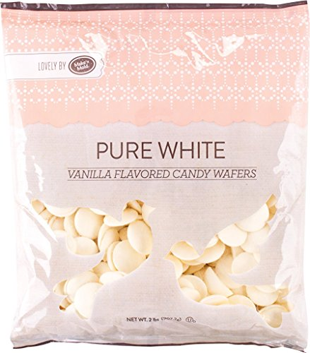 - Make'n Mold Vanilla-Flavored Melting Candy Wafers Pure White, 2 Pounds