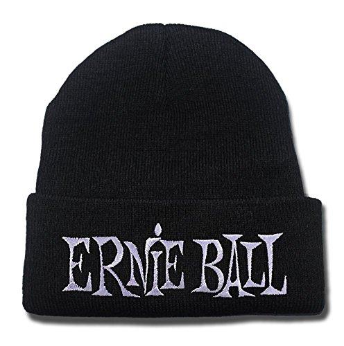 DEBANG Ernie Ball Logo Beanie Unisex Embroidery Knitted Hats Skullies Skull Caps Beanies