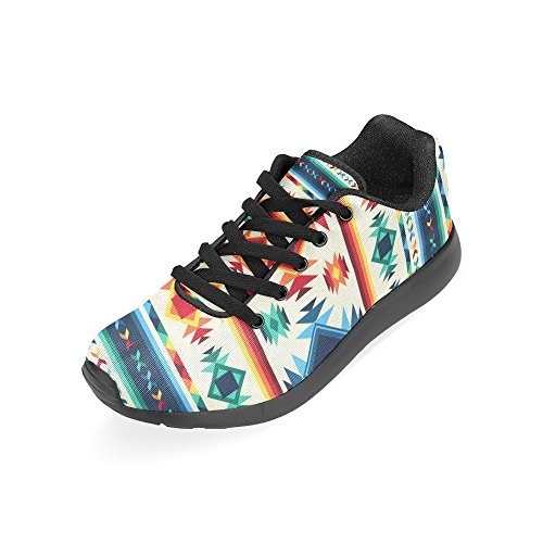 Size Sneakers 6 Pattern Casual Running US Women's On Print Tribal 15 Shoes Aztec InterestPrint Lightweight Athletic fqFUwOF