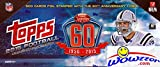 2015 Topps NFL Football 60th Anniversary VERY SPECIAL LIMITED EDITION Complete 500 Card Factory Set! Every Card Features EXCLUSIVE SILVER 60th Anniversary FOIL STAMPING! Less then 2,000 Sets Made!