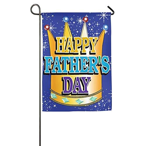 NOAID Custom Garden Flag Happy Fathers Day Garden