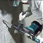 Makita-HR3210FCT-TASSELLATORE-SCALPELLATORE-32mm-850W-SDS-Plus-compatibile-AVT-3FUNZ-49J-2-MANDRINO-850-W-24-V