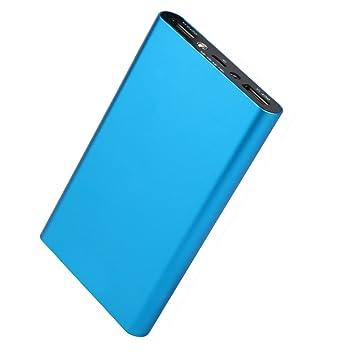 Power Bank, 20000mAh Cargador de Batería Externa Ultra Portátil con tecnología inteligente para iPhone Serie, Dispositivos Android, Teléfonos Móviles, ...
