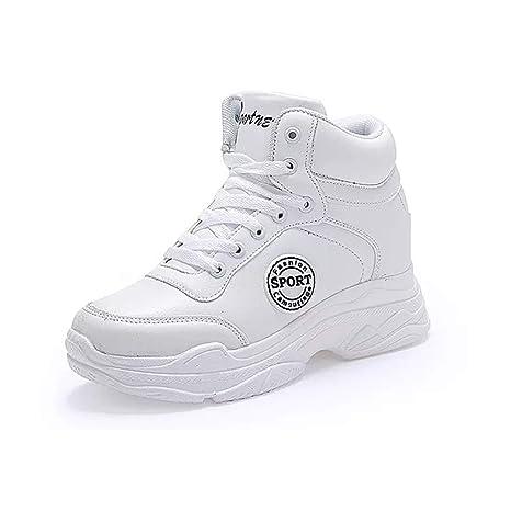 93b218cbcd YAN Scarpe Piattaforma Donna Nuovo 2019 Moda Sneakers PU Casual ...