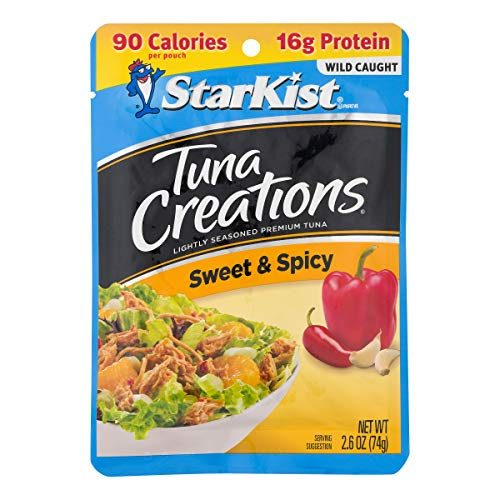 - StarKist Tuna Creations, Sweet & Spicy, 2.6 Ounce Pouches (Pack of 12)
