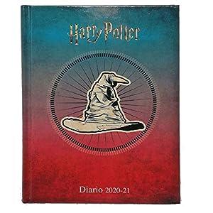 Harry Potter Diario Agenda Scuola Datato 2020/2021 - Prodotto Ufficiale - Dimensioni 13.5x18.5 cm circa Pagine in Lingua… 3 spesavip