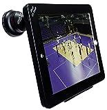 iShot G9 Pro iPad 2/3/4 Tripod Mount Filmmaking Metal Case Movie Mount + 37mm 3in1 HD SLR Camera Lens Kit - 0.45x Super Wide Angle + Macro +Free Bonus CPL Filter