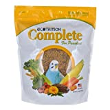 eCotrition Complete Pelleted Diet for Parakeets, 2.5-Pound, My Pet Supplies