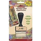 Ranger Adirondack Alcohol Ink Applicator, Stamp Handle and Felt