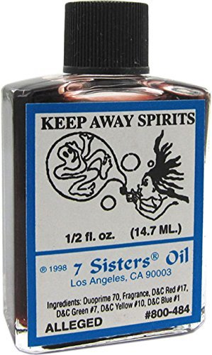 7 Sisters Of New Orleans Perfumed Anointing Oil - KEEP AWAY SPRT 1/2oz by Indio - Orleans Stores Mall