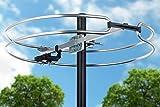 ViewTV VT-FM10 Outdoor Omnidirectional FM Antenna - 80 Miles Range