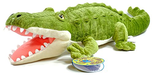 Carioca the Crocodile | 13 Inch Large Alligator Stuffed Animal Plush | By Tiger Tale Toys