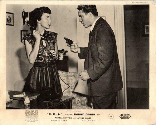 Amazon.com: D.O.A. Original Lobby Card Edmond OBrien With ...
