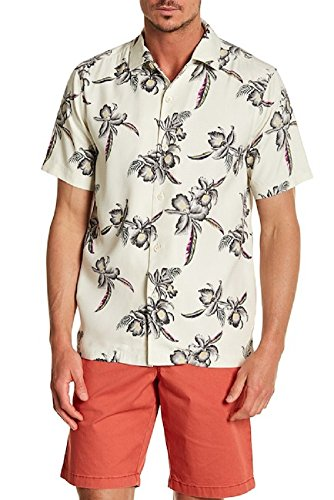 Tommy Bahama Men's Iris Oasis Coconut Cream Large