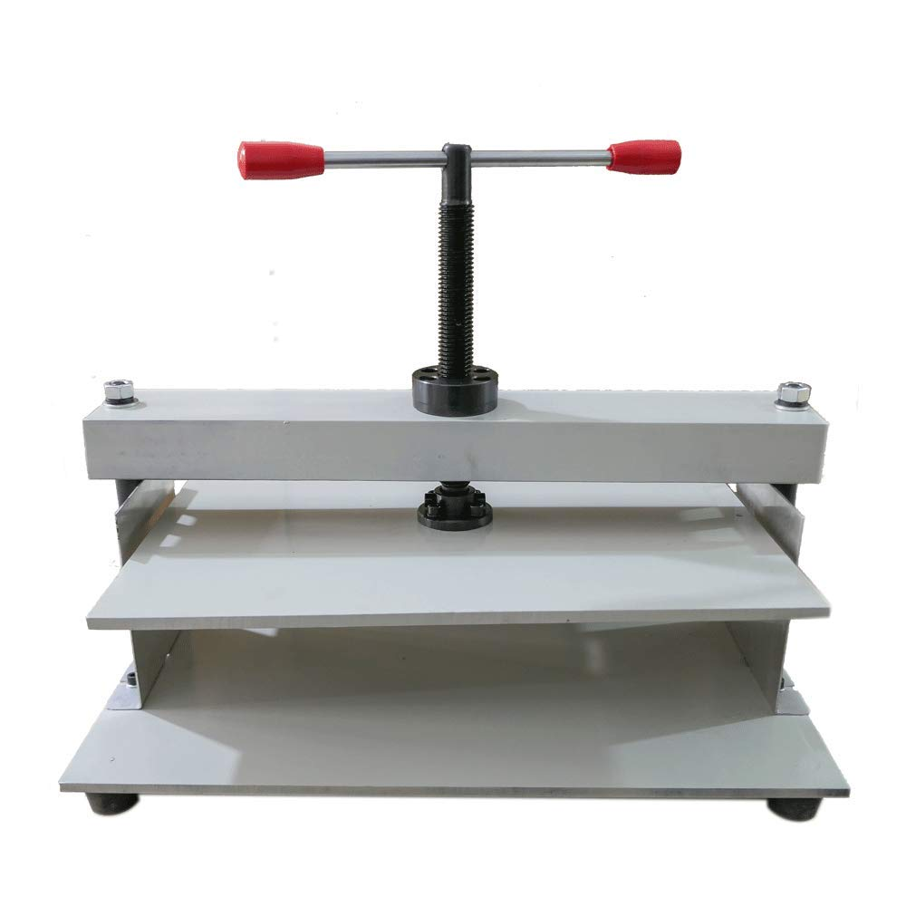 A3 Steel Bookbinder Press Screw Bookbinding Financial Receipt Flattening Machine Manual Flat Paper Press Machine for Photo Books, invoices, Checks, booklets, Nipping Machine 16.9X12.2 inch by RETERMIT (Image #7)