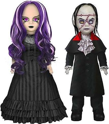 Mezco Toyz Living Dead Dolls Set of 2 Doll Figures Beauty And The (Mezco Toyz Living Dead Dolls)
