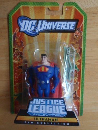 Mattel DC Universe Justice League Unlimited Fan Collection Ultraman Action - Mattel Unlimited Justice League
