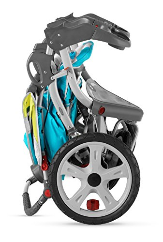 InStep Grand Safari Swivel Wheel Double Jogger | Pacific ...