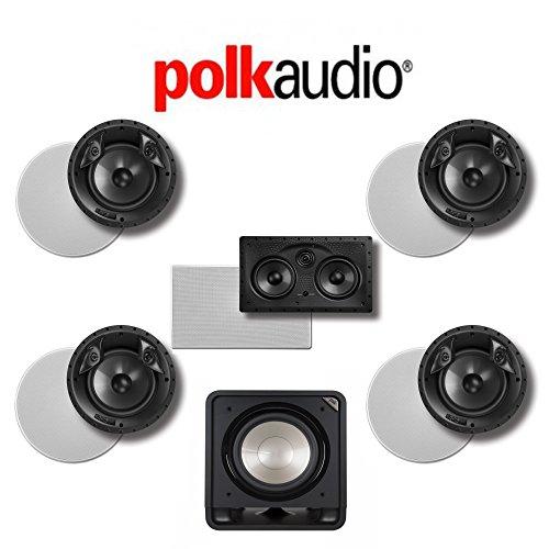 Polk Audio 80 F/X-LS 5.1-Ch Vanishing Series In-Ceiling / In