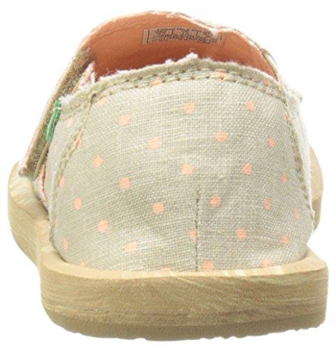 Sanuk ,  Damen Hot Dotty Natural/Peach Dots