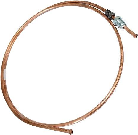 Conduite de freins tuyau tube en cuivre /Ø4.76mm avec raccords M12x1//M10x1 AERZETIX 350cm