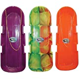 Emsco Group 1140/123 Sno Twin Toboggan Assorted Colors 12 Piece