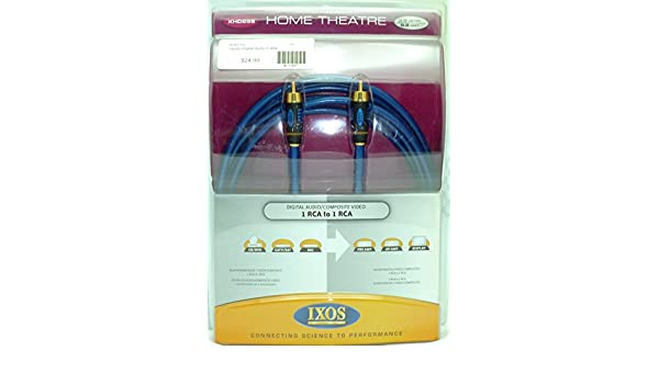 Amazon.com: IXOS XHD258 3 meter Studio Digital Coaxial Cable: Home Audio & Theater