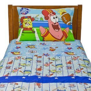 Nickelodeon SpongeBob SquarePants Twin Sheet Set - Spongebob Sheets