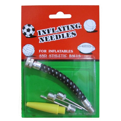 ActionLine KY-77014 5-in-1 Balls Bicycle Inflator Parts Extension Hose Needle Kit by ActionLine