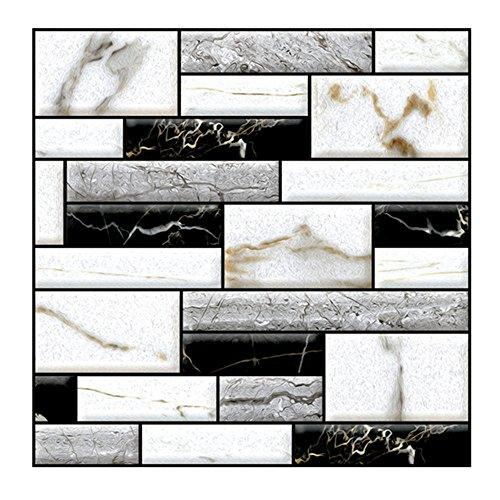 USLovee3000 Clearance 3D Wallpaper Wall Sticker Wall Decor Embossed Brick Simulation Tile Wall Sticker]()