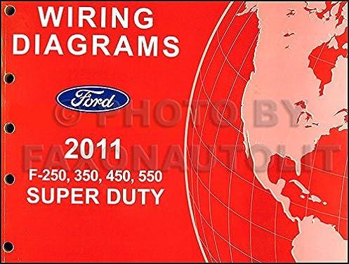 2011 ford f 250 thru 550 super duty wiring diagram manual original Zx2 Wiring Diagram
