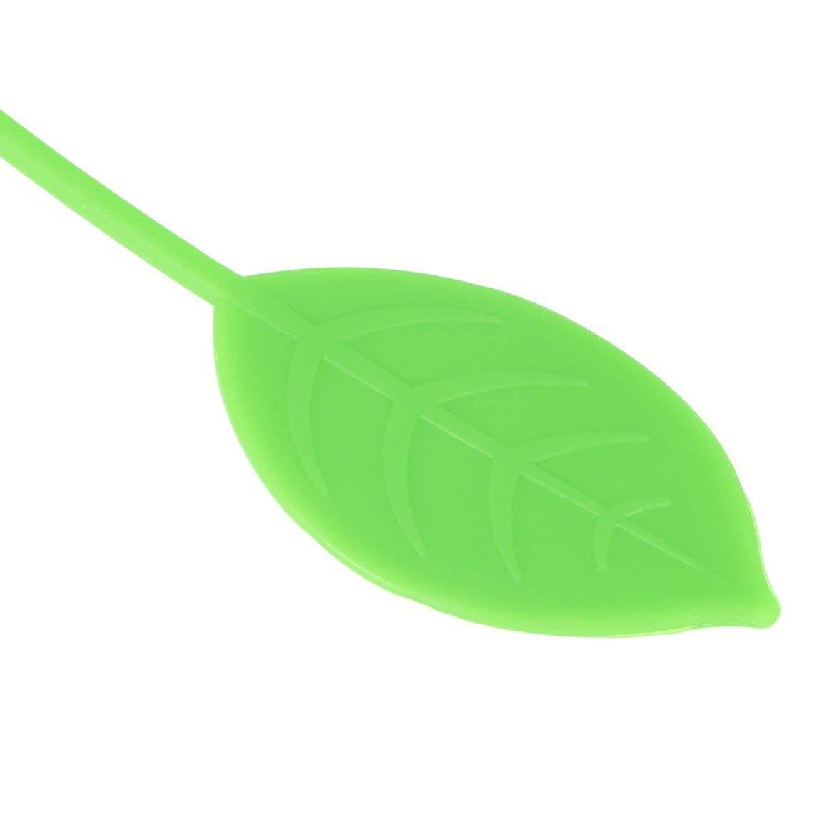 Fantasyworld Forma de Fresa de Infuser del t/é Puro de Silicona Suave de Goma de Las Hojas Intercambiables colador de t/é de Hierbas de la Especia Filtro difusor Cocina Gadget