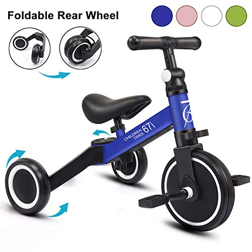 67i Kids Tricycles for 2 Year Olds 3 in 1 Tricycles Toddler Tricycle Ages 1-3 Years Kids Trikes for Toddler 3 Wheel…