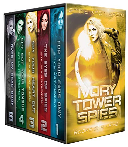 Ivory Tower Spies Complete Series: Books 1-5 (Ivory Tower Cat)