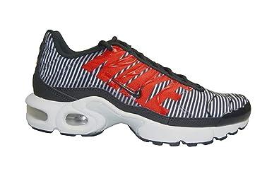 low priced a0556 b129b Nike Juniors - Tuned 1 Air Max Plus TN (GS) - White Black ...